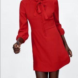 NWT Zara red Mini Dress